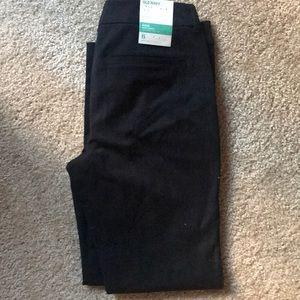 NWT pixie black crop pants